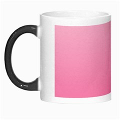 Piggy Pink To French Rose Gradient Morph Mug by BestCustomGiftsForYou
