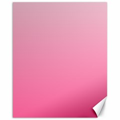 Piggy Pink To French Rose Gradient Canvas 16  X 20  (unframed)