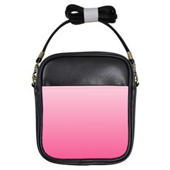 Piggy Pink To French Rose Gradient Girl s Sling Bag