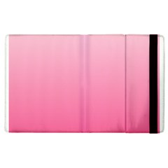 Piggy Pink To French Rose Gradient Apple Ipad 3/4 Flip Case by BestCustomGiftsForYou