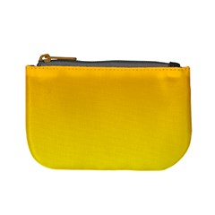 Chrome Yellow To Yellow Gradient Coin Change Purse