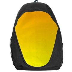 Chrome Yellow To Yellow Gradient Backpack Bag by BestCustomGiftsForYou