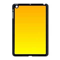 Chrome Yellow To Yellow Gradient Apple Ipad Mini Case (black)