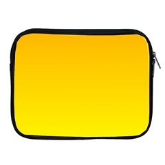 Chrome Yellow To Yellow Gradient Apple Ipad 2/3/4 Zipper Case by BestCustomGiftsForYou