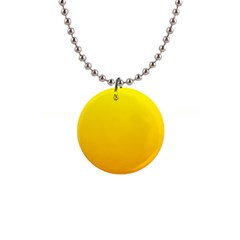 Yellow To Chrome Yellow Gradient Button Necklace by BestCustomGiftsForYou