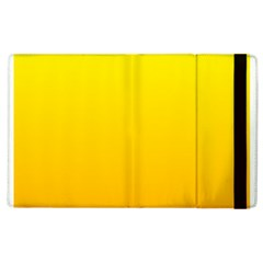 Yellow To Chrome Yellow Gradient Apple Ipad 2 Flip Case