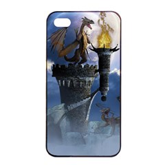 Dragon Land 2 Apple Iphone 4/4s Seamless Case (black) by gatterwe