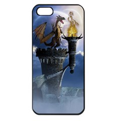 Dragon Land 2 Apple Iphone 5 Seamless Case (black) by gatterwe