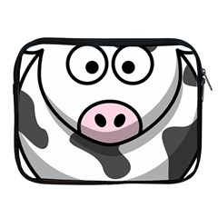 Cow Apple Ipad 2/3/4 Zipper Case