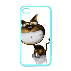 Funny Cat Apple Iphone 4 Case (color) by cutepetshop
