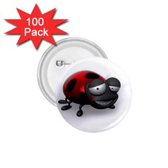 Lady Bird 1 75  Button (100 Pack) by cutepetshop