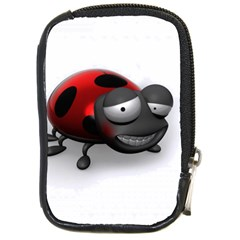 Lady Bird Compact Camera Leather Case by cutepetshop