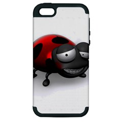 Lady Bird Apple Iphone 5 Hardshell Case (pc+silicone) by cutepetshop