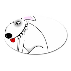Pitbull Magnet (oval) by cutepetshop