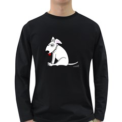 Pitbull Mens' Long Sleeve T Shirt (dark Colored) by cutepetshop