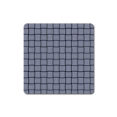 Cool Gray Weave Magnet (square) by BestCustomGiftsForYou