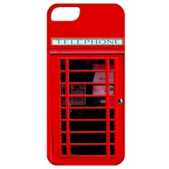 Phone Booth Apple Iphone 5 Classic Hardshell Case by CreativeZone