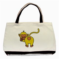 20130221 Whatareulookingat Classic Tote Bag by funkymonkey