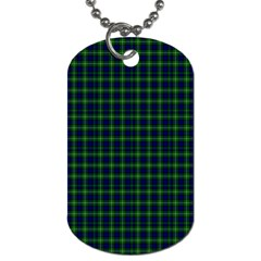 Lamont Tartan Dog Tag (two Sided)