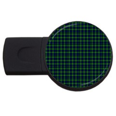 Lamont Tartan 2gb Usb Flash Drive (round) by BestCustomGiftsForYou