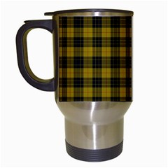 Macleod Tartan Travel Mug (white) by BestCustomGiftsForYou