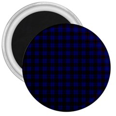 Homes Tartan 3  Button Magnet by BestCustomGiftsForYou