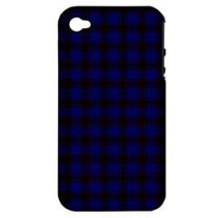 Homes Tartan Apple Iphone 4/4s Hardshell Case (pc+silicone)