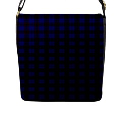 Homes Tartan Flap Closure Messenger Bag (large) by BestCustomGiftsForYou