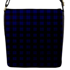 Homes Tartan Flap Closure Messenger Bag (small) by BestCustomGiftsForYou