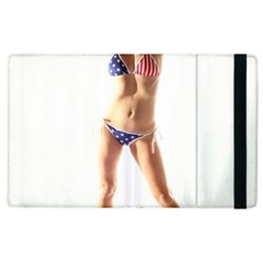 Usa Girl Apple Ipad 2 Flip Case by hlehnerer