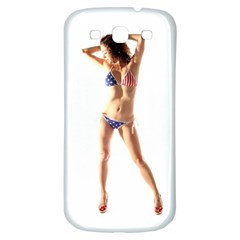 Usa Girl Samsung Galaxy S3 S Iii Classic Hardshell Back Case by hlehnerer