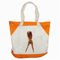 Usa Girl Accent Tote Bag