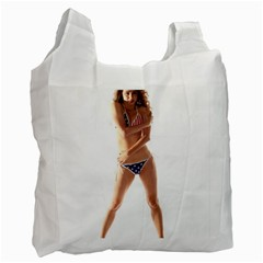 Usa Girl Recycle Bag (two Sides) by hlehnerer