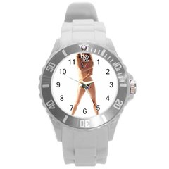 Usa Girl Plastic Sport Watch (large) by hlehnerer