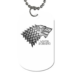 Winter Is Coming ( Stark ) 2 Dog Tag (two Sided)