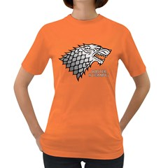 Winter Is Coming ( Stark ) 2 Womens' T Shirt (colored)