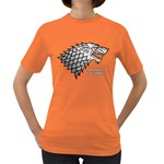 Winter is Coming ( Stark ) 2 Womens' T-shirt (Colored) Front