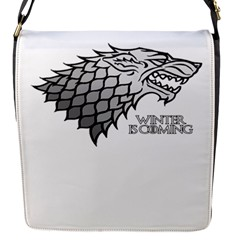 Winter Is Coming ( Stark ) 2 Removable Flap Cover (small) by Lab80