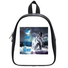 As The River Rises  School Bag (small) by AuthorPScott