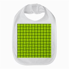 Fluorescent Yellow Weave Bib