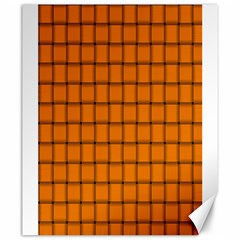 Orange Weave Canvas 20  X 24  (unframed)