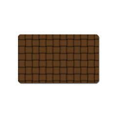 Brown Nose Weave Magnet (name Card) by BestCustomGiftsForYou