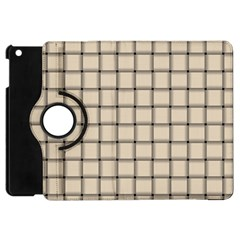 Champagne Weave Apple Ipad Mini Flip 360 Case
