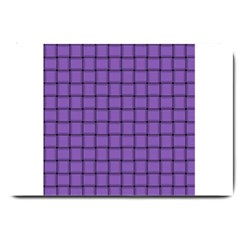 Amethyst Weave Large Door Mat by BestCustomGiftsForYou