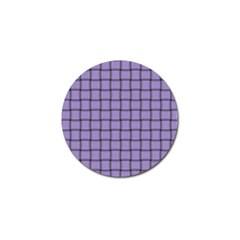 Light Pastel Purple Weave Golf Ball Marker 10 Pack by BestCustomGiftsForYou