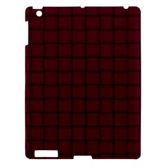 Dark Scarlet Weave Apple Ipad 3/4 Hardshell Case by BestCustomGiftsForYou