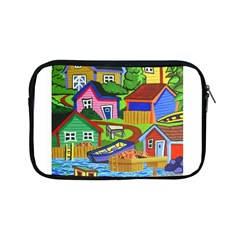 Three Boats & A Fish Table Apple Ipad Mini Zipper Case