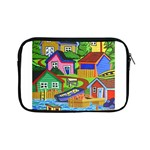 Three Boats & A Fish Table Apple iPad Mini Zipper Case Front