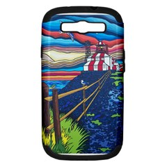Cape Bonavista Lighthouse Samsung Galaxy S Iii Hardshell Case (pc+silicone)