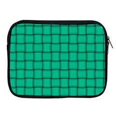 Caribbean Green Weave Apple Ipad 2/3/4 Zipper Case